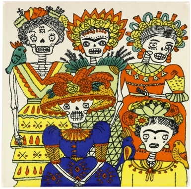 Las Hermanas 2 Dolcer Ceramic Tile