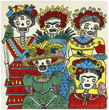 Las Hermanas 3 Dolcer Ceramic Tile