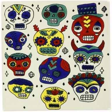Faces 2 Dolcer Ceramic Tile