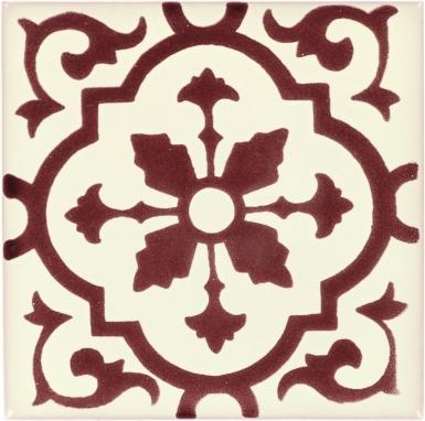 Amria Maroon Dolcer Ceramic Tile