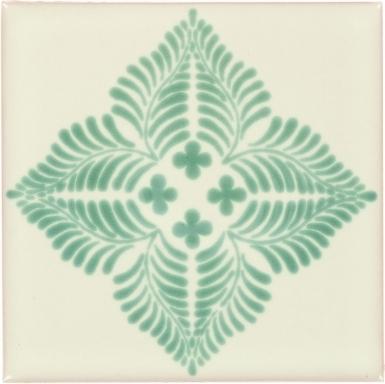 Soria Hunter Green Dolcer Ceramic Tile