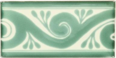Ola Green Border Dolcer Ceramic Tile