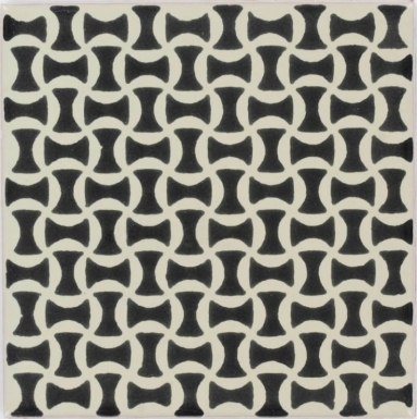 Trellis Black Dolcer Ceramic Tile