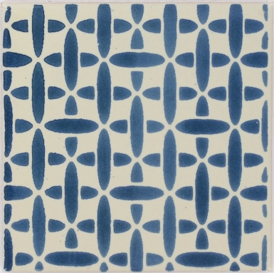 Retro Blue Dolcer Ceramic Tile