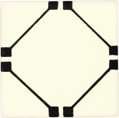 Lucania Black Dolcer Ceramic Tile