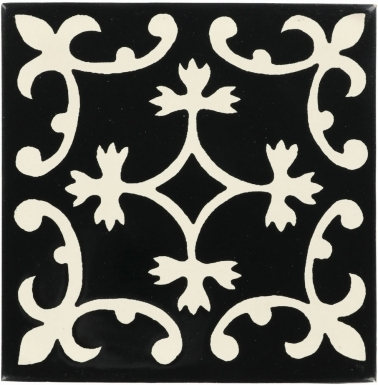 Valmonte Black Dolcer Ceramic Tile
