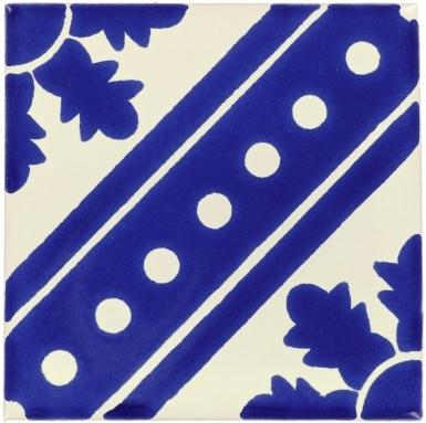 Blue Pañuelo Dolcer Ceramic Tile
