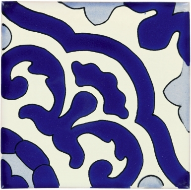 Gardena Sapphire Sevilla Handmade Ceramic Floor Tile