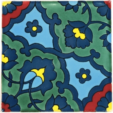 Quarter Ari Dolcer Damasco Ceramic Tile