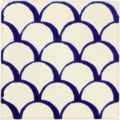 Blue Scales Dolcer Ceramic Tile
