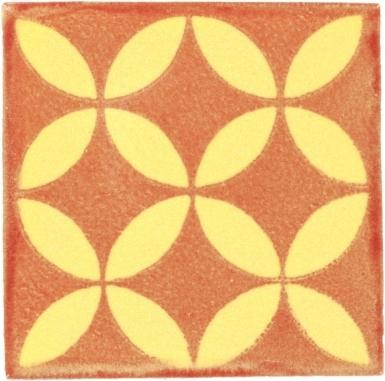 Prisme Rust Handmade Siena Vetro Ceramic Tile