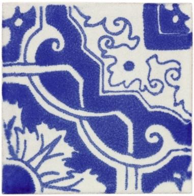Vinci 1 Handmade Siena Vetro Ceramic Tile
