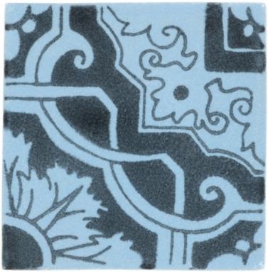 Vinci 2 Handmade Siena Vetro Ceramic Tile