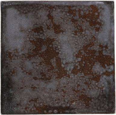 Oxide Black Handmade Siena Vetro Ceramic Tile