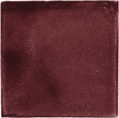 Deep Rose Handmade Siena Vetro Ceramic Tile