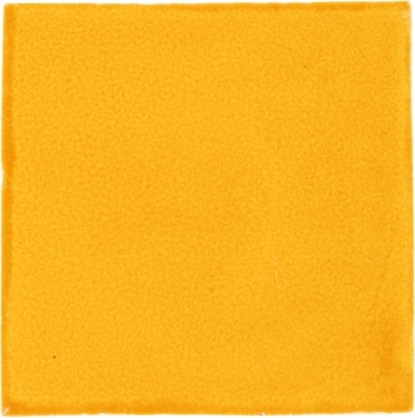 Yellow Handmade Siena Vetro Ceramic Tile