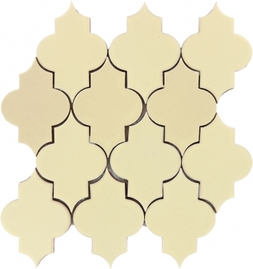 Mesh Mounted Mamounia - Yellow Quartz Matte