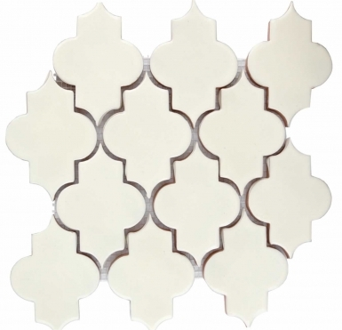 Mesh Mounted Mamounia - Antique White