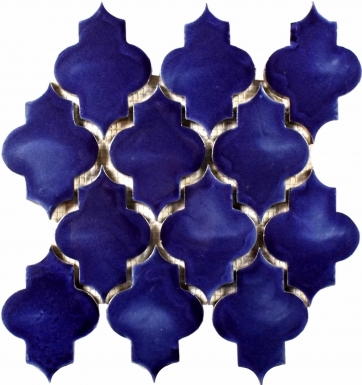 Mesh Mounted Mamounia - Blue