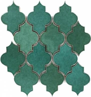 Mesh Mounted Mamounia - Light Green