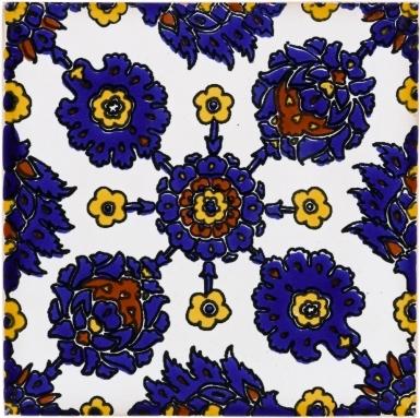 Attilio 1 Terra Nova Damasco Ceramic Tile