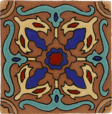 Venice Tierra High Fired Handcrafted Tile