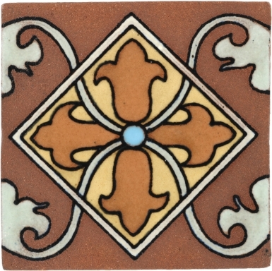 Almeria 5 Tierra High Fired Handcrafted Tile