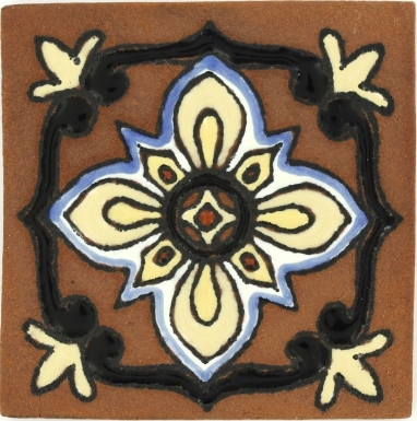 Bella 2 Tierra High Fired Handcrafted Tile