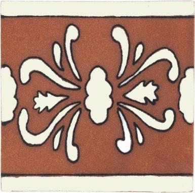 Azalea Tierra High Fired Handcrafted Tile