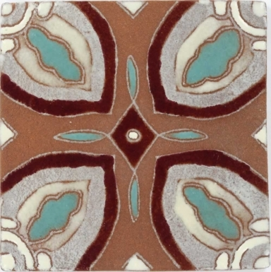 Montechiaro 3 Tierra High Fired Handcrafted Tile