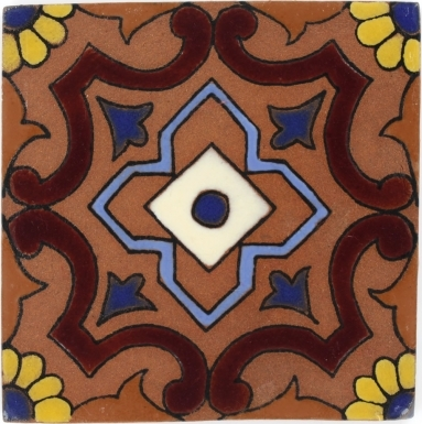 Pianella 2 Tierra High Fired Handcrafted Tile