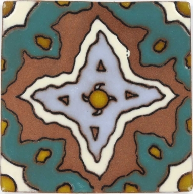San Martino 2 Tierra High Fired Handcrafted Tile