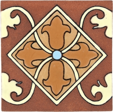 Almeria 7 Tierra High Fired Handcrafted Tile