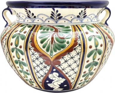 Mexican Talavera  Large Round - Planter 24
