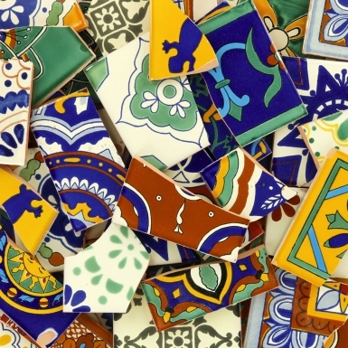 Broken Decorative - Talavera Mexican Tile