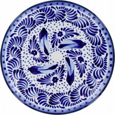 Puebla Traditional Ceramic Talavera Plate N. 18