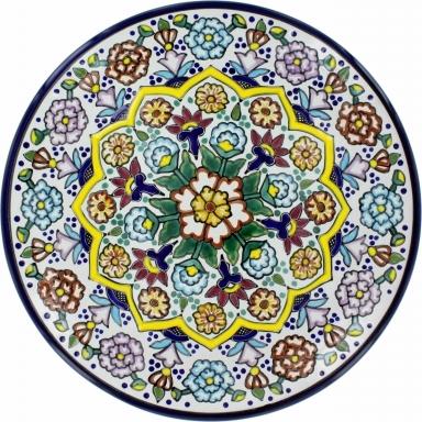 Puebla Traditional Ceramic Talavera Plate N. 6