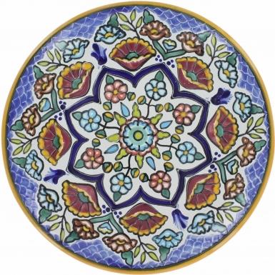 Puebla Traditional Ceramic Talavera Plate N. 2