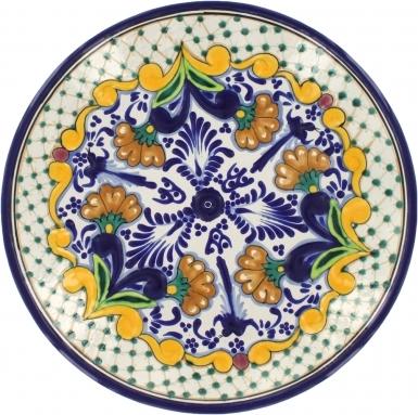 Puebla Classic Ceramic Talavera Plate N. 2