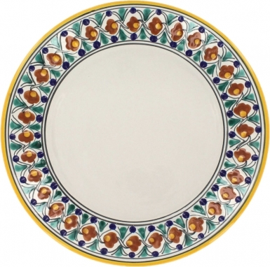 Puebla Classic Ceramic Talavera Plate N. 1