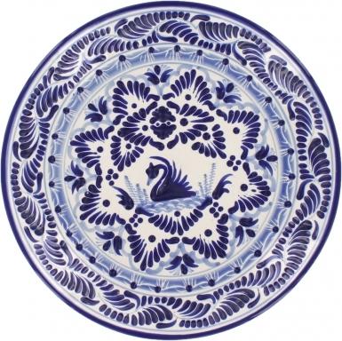 Puebla Classic Ceramic Talavera Plate N. 4