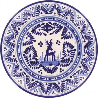 Puebla Classic Ceramic Talavera Plate N. 5