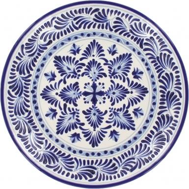 Puebla Classic Ceramic Talavera Plate N. 6