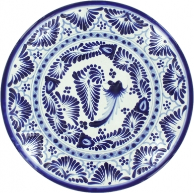 Puebla Classic Ceramic Talavera Plate N. 10