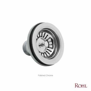 ROHL Basket Strainer Without Remote Pop-Up