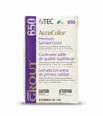TEC Grout Standard Gray 933 Sanded