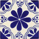 Blue Isabel Talavera Mexican Tile