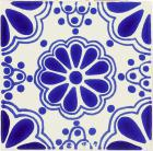 Blue Lace Talavera Mexican Tile