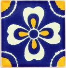 3x3 Carmen - Talavera Mexican Tile by Size