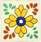 3x3 Comitan - Talavera Mexican Tile